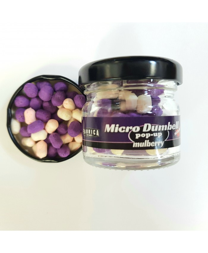 Micro Dumbell- Mulberry 5mm - ЗАХРАНКИ