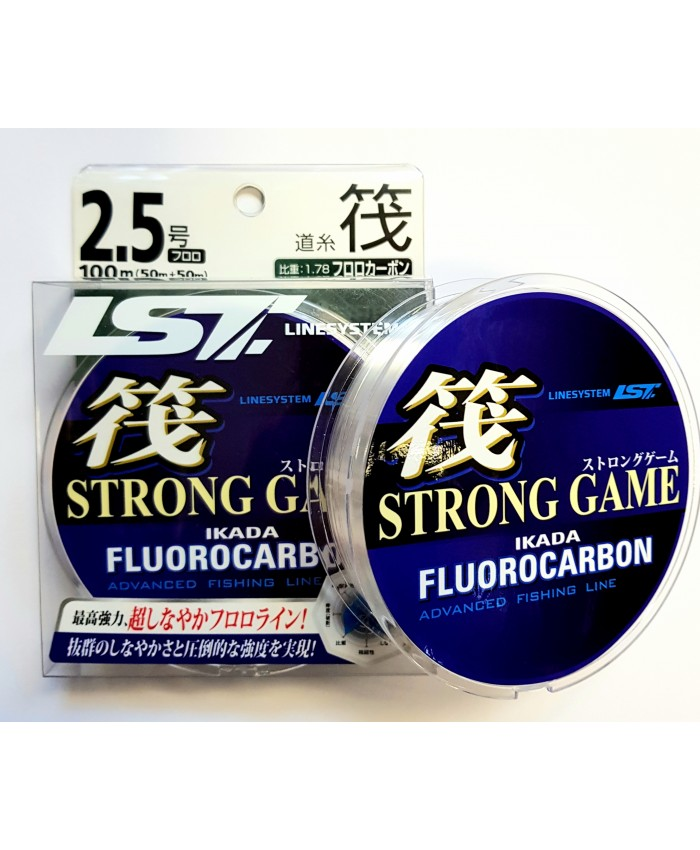 STRONG GAME FLUOROCARBON- 100M - Флуорокарбони