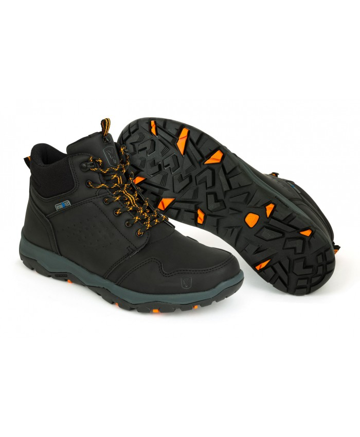 Fox Coll Black Orange Mid Boot - Обувки