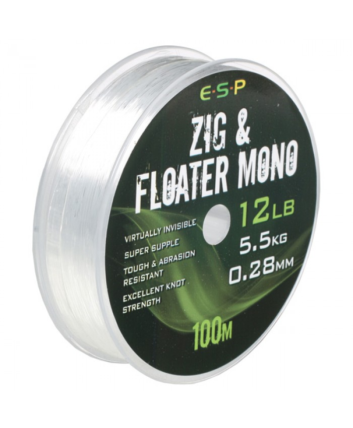 ESP Zig and Floater Mono 100m - Зиг Риг