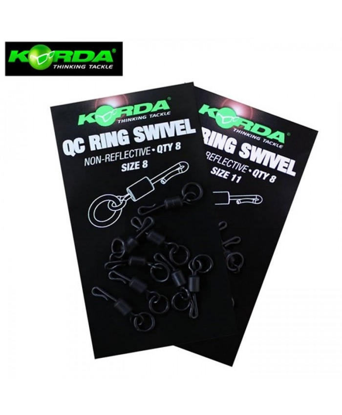 Korda QC Ring Swivel - Изработка на монтажи