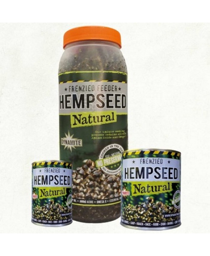 Dynamite Baits Freinzed Hempseed Natural can коноп консерва - Захранки