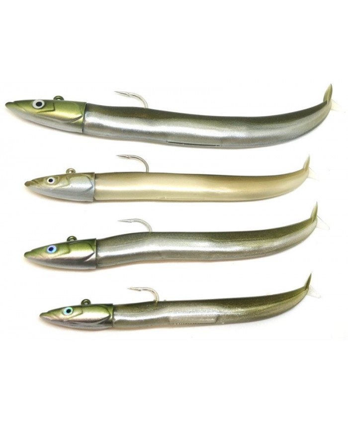 FIIISH BLACK MINNOW №3   Simple Combo Shore Kaki - Изкуствени примамки