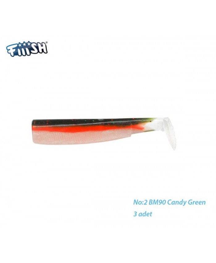Fiiish Black Minnow X3 Corps Colors Candy green - Изкуствени примамки