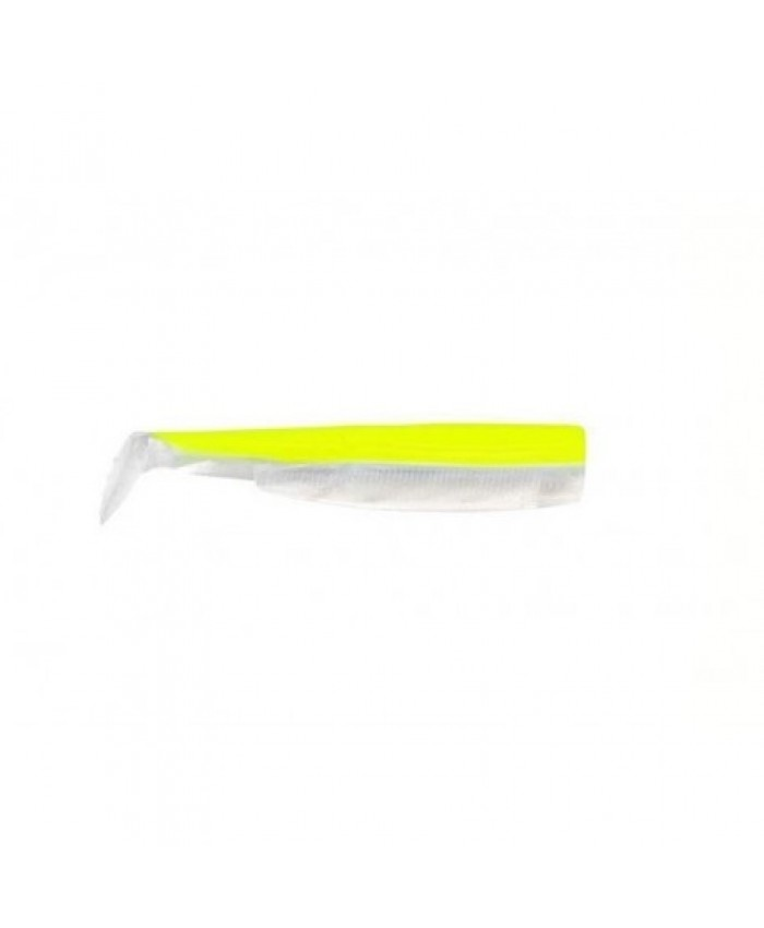 fiiish black minnow colors jaune f./blanc x4 - Изкуствени примамки