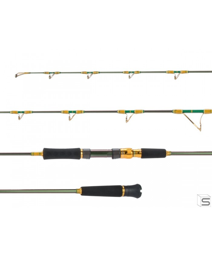 JIGGING MASTER JM UNDERHEAD UH IMPERIAL JIGGING FISHING ROD 5`6 - Въдици