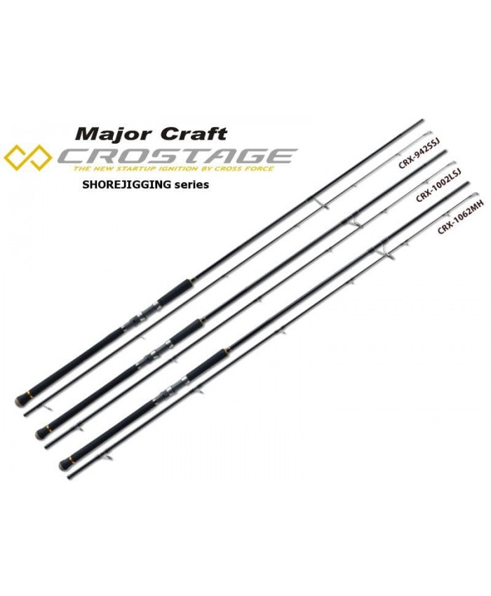 Major Craft New Crostage Shore Jigging Въдици - Въдици