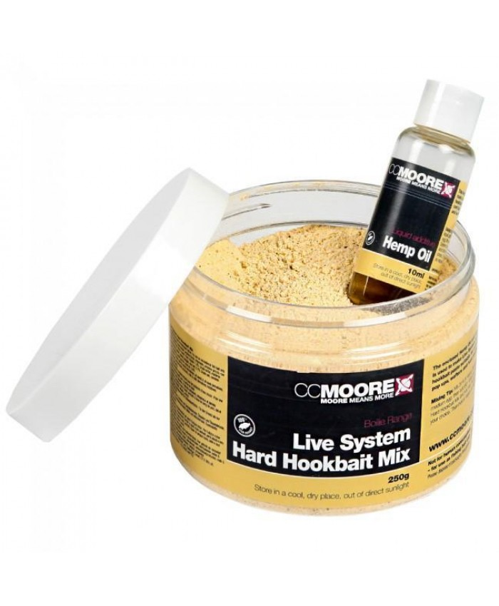 Live System Hard Hookbaits Mix-250 g - Захранки