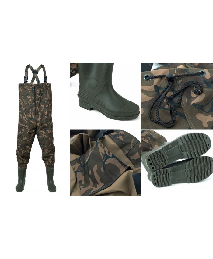 Fox Chunk Camo Lightweight Waders  - Гащеризони