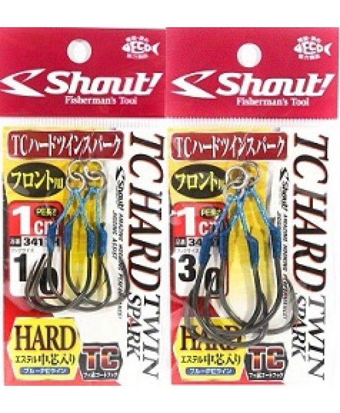 КУКИ TC HARD TWIN SPARK HOOK 1 СМ 341TH - SHOUT! - КУКИ