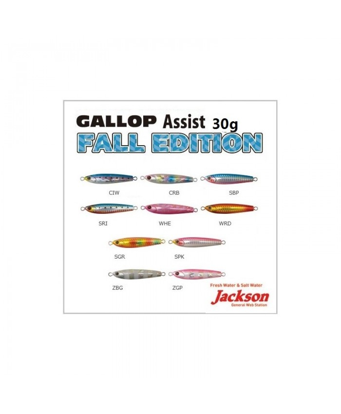Jackson Gallop Assist fall edition 30g Пилкер - Пилкери и Джигове