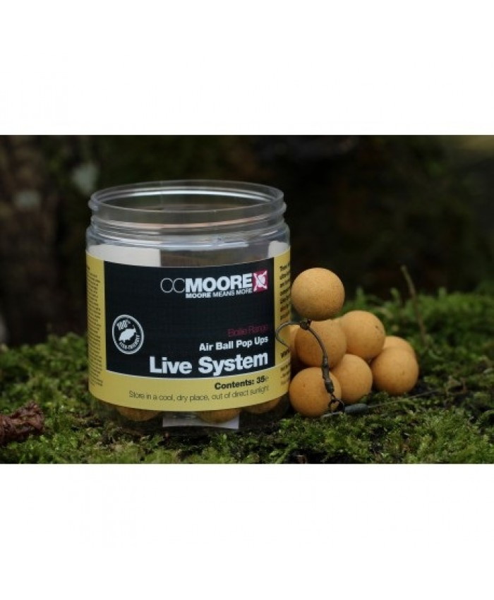 CC MOORE Live System Air Ball Pop Ups - ПОПЪП-И (POP UPS)