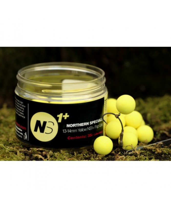 CC MOORE NS1+ Pop Ups - Yellow 13-14mm - ПОПЪП-И (POP UPS)