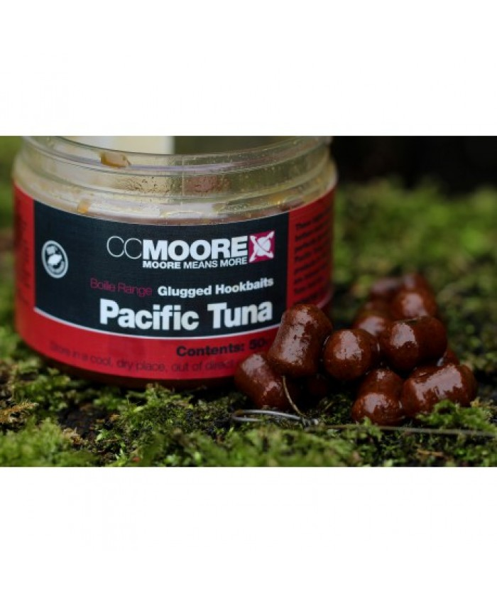 CC MOORE Pacific Tuna Glugged Hookbaits - Протеинови топчета