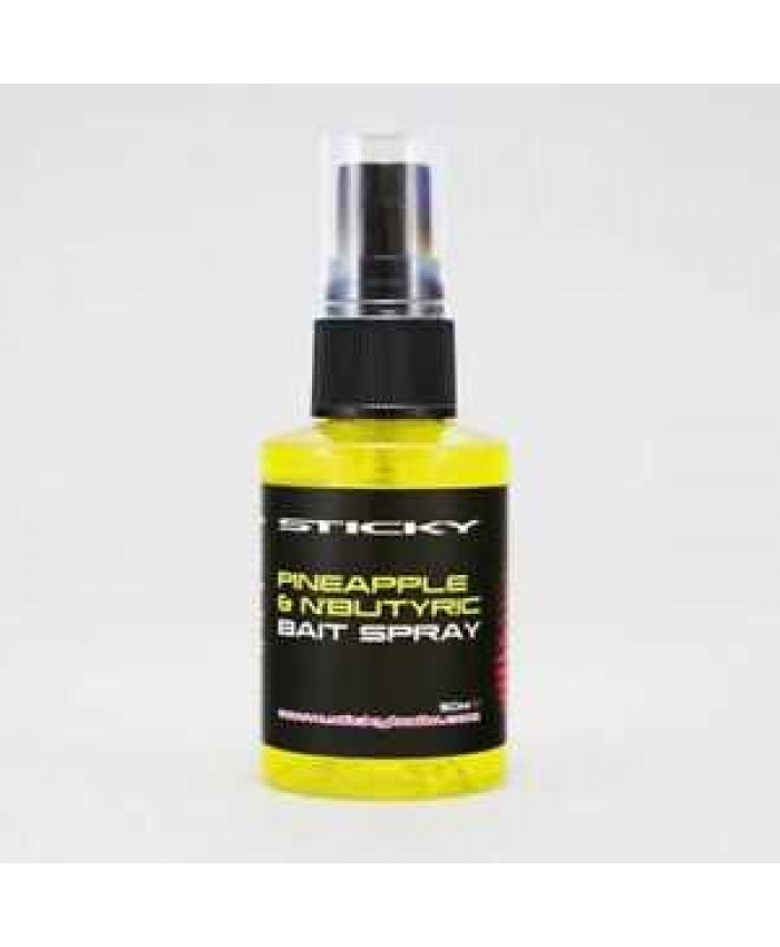 Sticky Baits Pineapple & N-Butyric Spray 50ml - Захранки